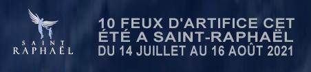 Feu d'artifice à Saint-Raphaël 10 dates